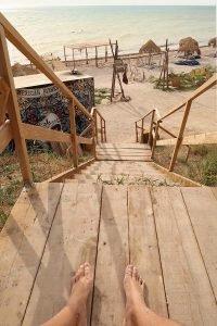Plaja Cochilia din Tuzla
